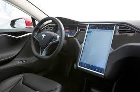 Tesla Interior Model S Let Elon Drive Tesla Autopilot First Test Motor Trend