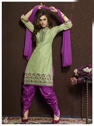 fastidious designer pista colour cotton embroidered unstitched