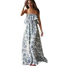 aliexpress com buy summer floral women dress printed backless