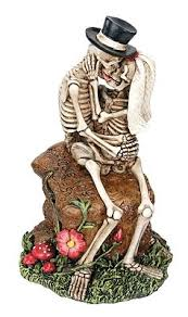 skeleton wedding cake toppers rocks skeletons wedding cake topper wedding