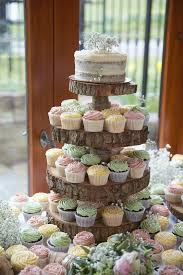wedding cupcake tower 25 amazing rustic wedding cupcakes stands deer pearl flowers