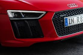 audi headlights 2017 audi r8 v10 plus gets frickin u0027 lasers automobile magazine
