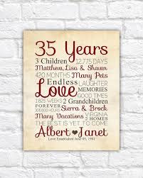 30th anniversary gifts for parents inspirational 39th wedding anniversary gift ideas parents 25