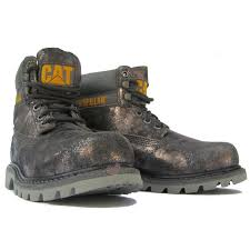 womens grey boots sale shoes cat caterpillar colorado p307015 ankle boots grey