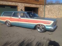 1962 ford galaxie country squire woody wagon woodies pinterest