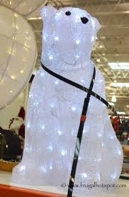 Polar Bear Family Christmas Decoration Lights by Costco Christmas Decorations 2015 Frugal Hotspot