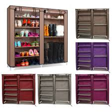 shoes rack simple stackable 4 tier 12 pair shoes free standing