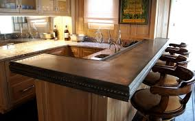 Kitchen Bar Designs by Bar Top Ideas Tiberious Granite Bar Top 3 Creative Kitchen