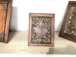 Thai Home Decor by Thai Handmade Gold And Brown Wood Mirror Frame Home Decor 9