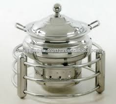wedding serving dishes steel cheffing dish wedding party utensils food serving dish