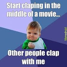Slow Clap Meme - slow clap meme by omnisx memedroid