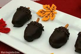 acorn oreo cookie balls recipe where imagination grows