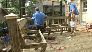 Metal Deck Bench Brackets - how to add built in seating to a deck today u0027s homeowner