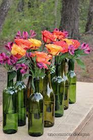 Vases For Centerpieces For Weddings Best 25 Wine Bottle Vases Ideas On Pinterest Wine Bottle
