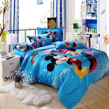 Mickey And Minnie Bed Set bedroom beautiful girls bedroom decoration 3 standrad pillows in
