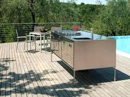 cuisine d été pas cher meuble cuisine d ete sous la tonnelle le barbecue est intacgrac