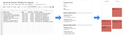 How To Create Google Doc Spreadsheet Quickstart Managing Responses For Google Forms Apps Script