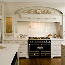 are black and white kitchens in style black range in a white kitchen atticmag