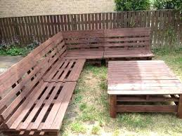 Build Outdoor Garden Table by How To Make Patio Furniture With Pallets U2013 Smashingplates Us