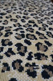 Leopard Print Runner Rug Animal Print Wool Carpet Rugs Runners Hemphill S Rugs