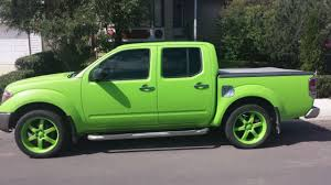 plasti dipped frontier key lime green nissan frontier forum