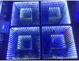 2018 new mirror 3d led floor light with sd led stage