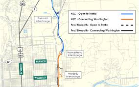 Map Of Spokane Good News For The North Spokane Corridor City Of Spokane Washington