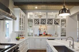 x wine rack over fridge kitchen contemporary with exposed beams