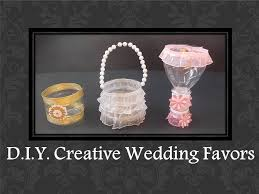 creative wedding favors d i y easy creative wedding favors ideas