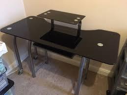 Glass Corner Desk Modern Design Glass Corner Desk All Office Desk Design