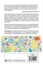 media communication and development amazon co uk linje manyozo