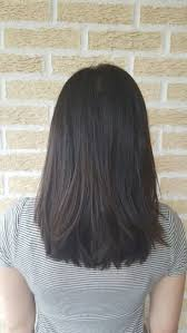 cute shoulder length haircuts longer in front and shorter in back best 25 straight layered hair ideas on pinterest long straight