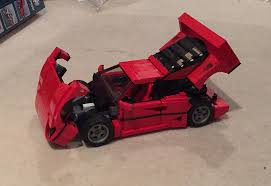lego ferrari f40 i built a lego ferrari f40 and it u0027s stupidly awesome
