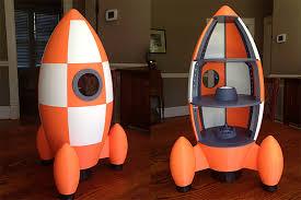 grandpa of the year creates amazing 3d printed rocketship