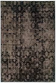 Stylerug by Black And Gray Worn Overdyed Style Rug Woodwaves