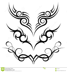 tribal stock vector illustration of abstract graphic