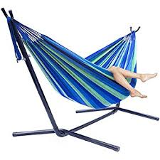 amazon com best choice products double hammock with space saving