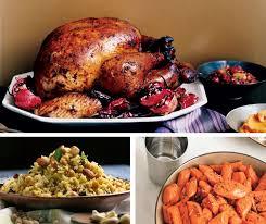 non traditional thanksgiving eats