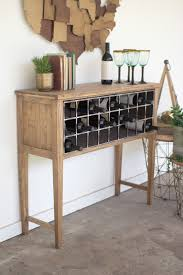 console table with wine storage wood metal wine rack console consoles bottle and wine rack