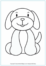 dog colouring 2