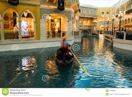 Venetian Las Vegas Map by The Venetian Las Vegas Gondola Ride Editorial Photography Image