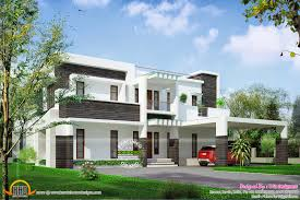 contemporary house design in 400 square yards kerala home design