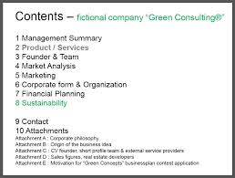 consulting business plan template consulting business plan