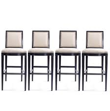 barstool set of four hickory chair