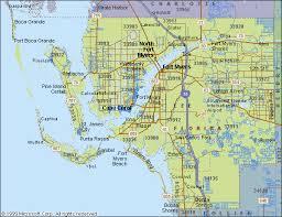 Palm Beach Florida Zip Code Map Lee County Florida Lee County Zip Codes Maps Pinterest
