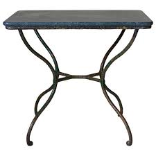 small wrought iron table small wrought iron side table france 19th century at 1stdibs