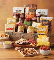 cheese gift baskets ultimate meat and cheese gift box at harry david