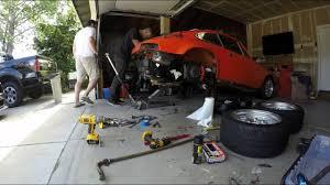 1990 porsche 911 engine timelapse of a porsche 911 engine removal youtube