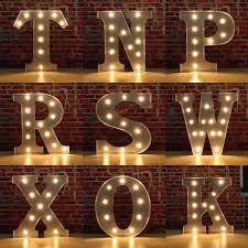 light up letters diy light up letters wall decor delectable vintage metal led light diy