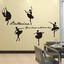 aliexpress com buy ballerina your dream will come true dance aliexpress com buy ballerina your dream will come true dance inspirational wall quotes stickers for ballet girls room decor free shipping from reliable